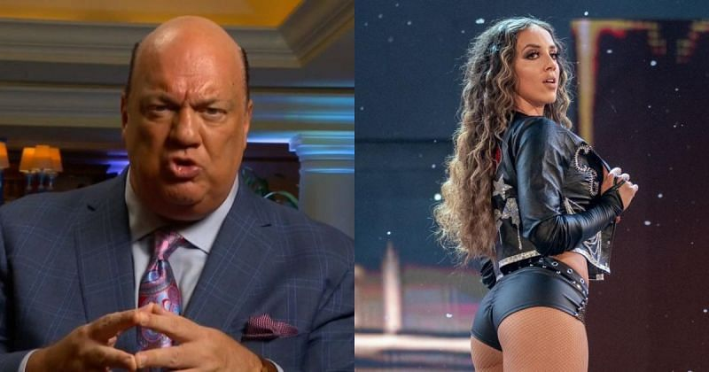 Paul Heyman and Chelsea Green.