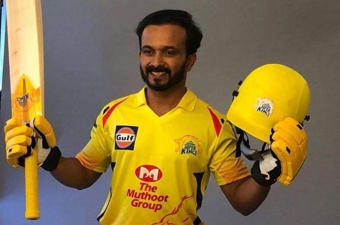 Kedar Jadhav once again struggled to get the CSK innings going.