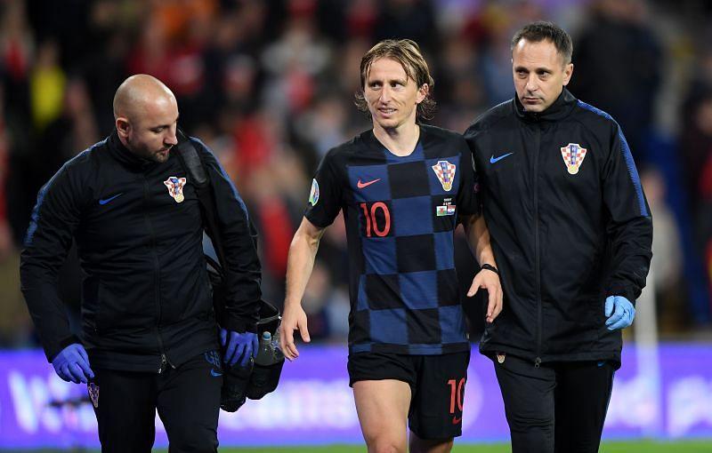 Luka Modric won the Golden Ball at the 2018 FIFA World Cup.
