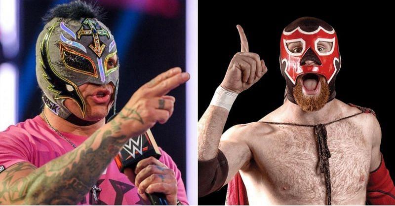 Rey Mysterio; Sami Zayn as El Generico