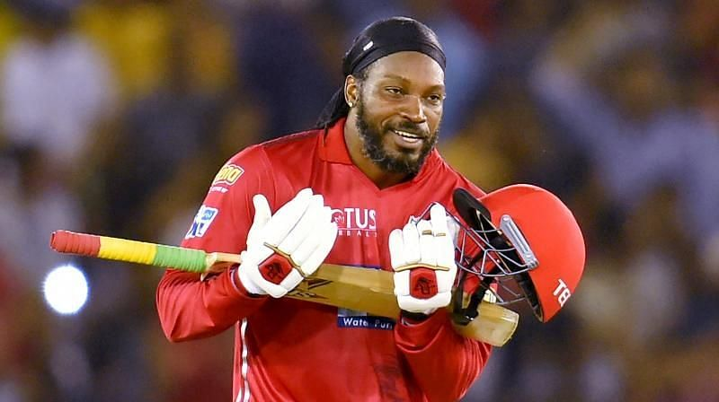 Batting at No.3, Chris Gayle made a brilliant half-century and put his team in the driver
