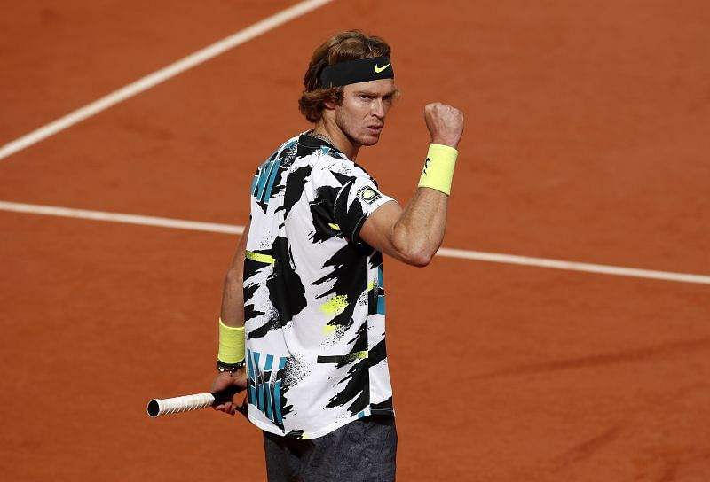 Andrey Rublev beat Kevin Anderson earlier this year at Roland Garros