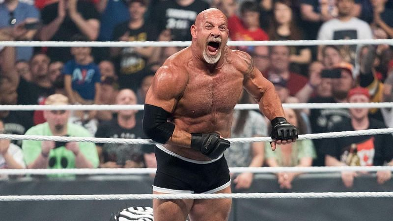 WWE Hall of Famer Goldberg