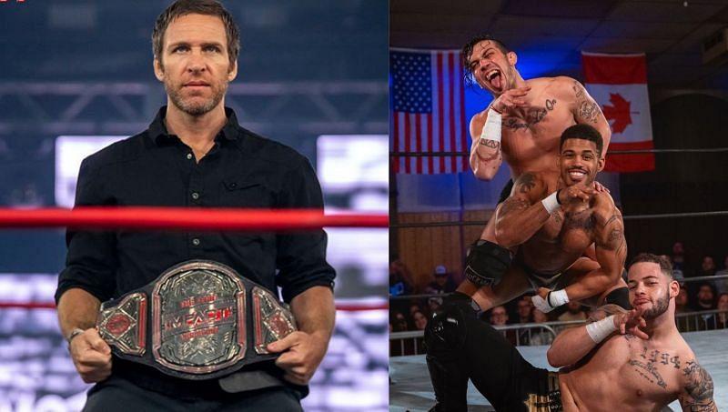 IMPACT Wrestling Tag Team Champion Chris Sabin; The Rascalz
