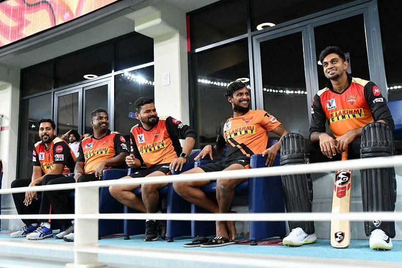 Vijay Shankar (R) was an integral part of SRH this season (Credits: IPLT20.com)