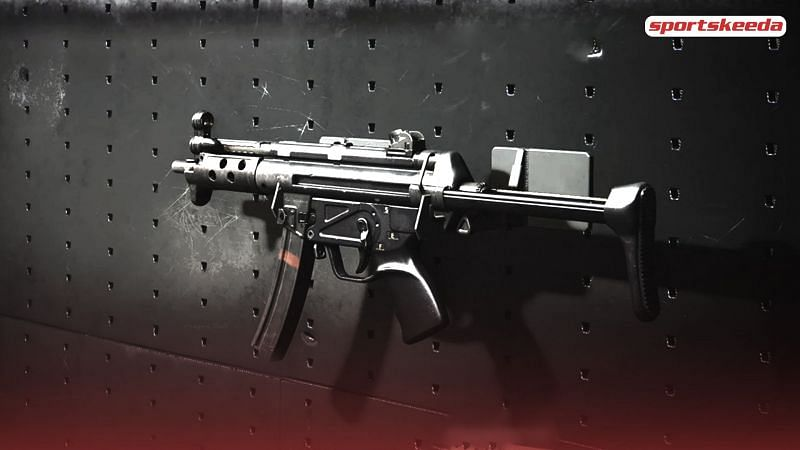 The MP5 is a popular SMG in the COD series