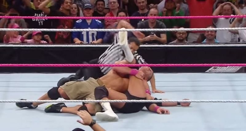 Damien Sandow failed to cash-in on John Cena