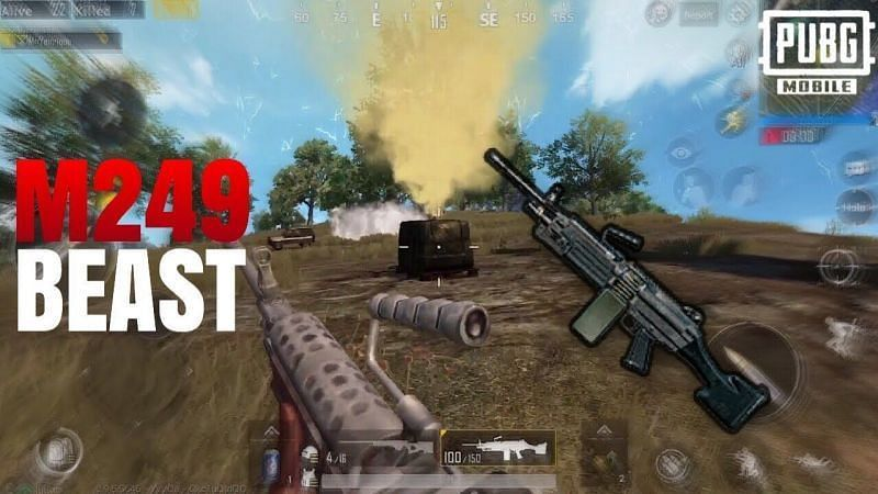 PUBG Mobile: M16A4 location, damage, stats, and more
