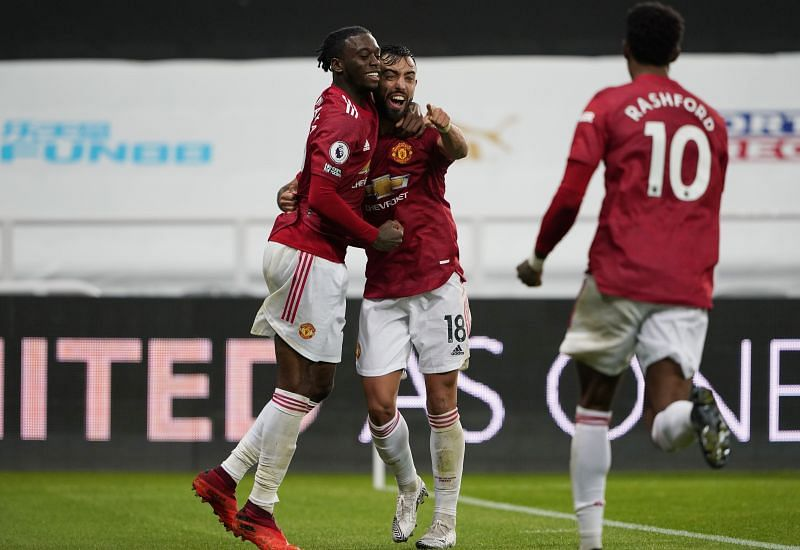 Manchester United registered a 4-1 win over Newcastle United on Saturday