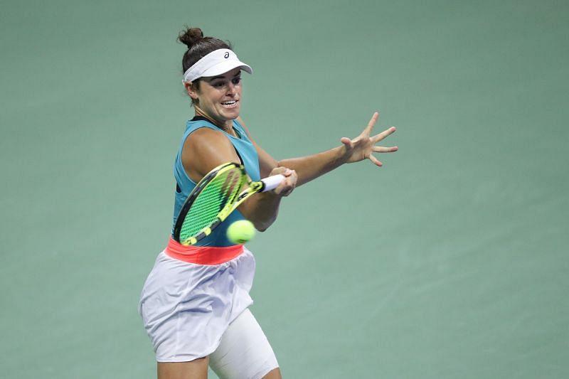 Jennifer Brady had made it to the US Open semifinals