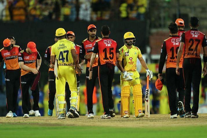 SRH vs CSK (Image Credits: IPLT20.com)