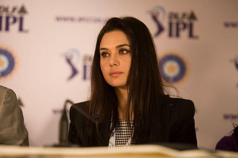 KXIP owner Preity Zinta