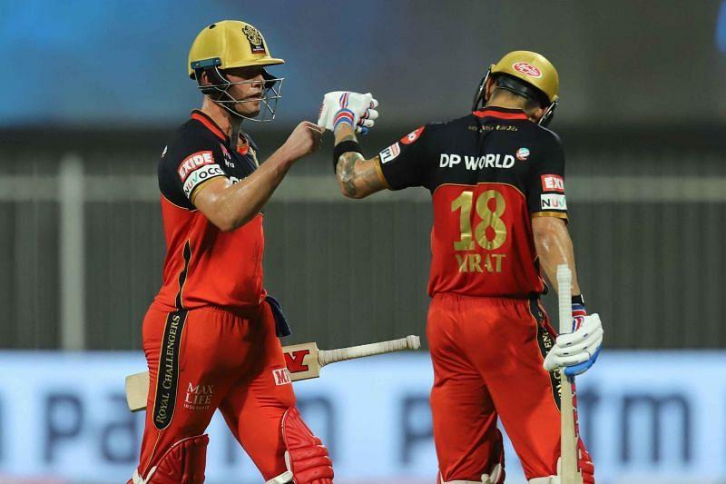Can AB De Villiers (L) and Virat Kohli (R) do it again? (Image Credits: IPLT20.com)