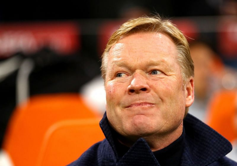 Ronald Koeman has named his Barcelona squad for the UEFA Champions League
