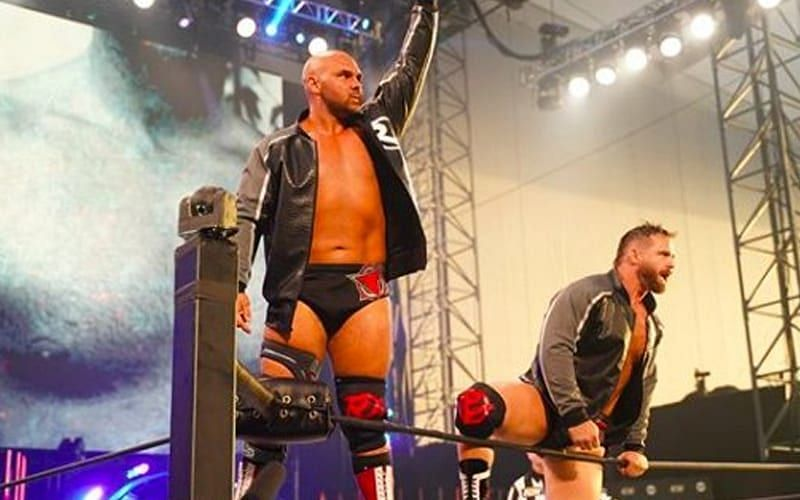 FTR has become the top tag team in AEW and hold the AEW Tag Team Championships