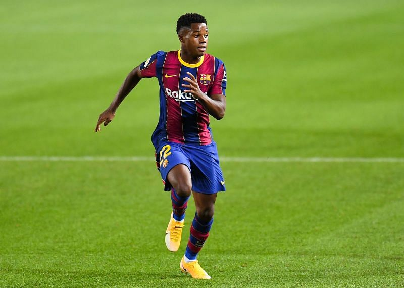 Ansu Fati is the present and the future for Barcelona