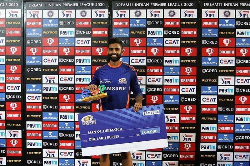 Suryakumar Yadav took the match away from the Rajasthan Royals [PC: iplt20.com]
