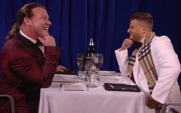 Chris Jericho and MJF on AEW Dynamite