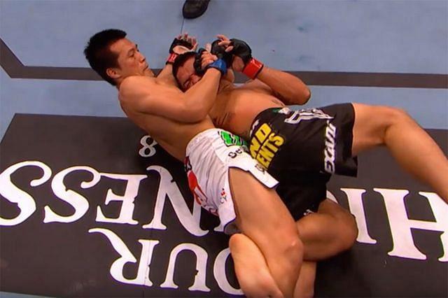 The Korean Zombie used the UFC