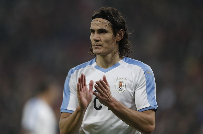 Edinson Cavani could be wearing Manchester United colours this season