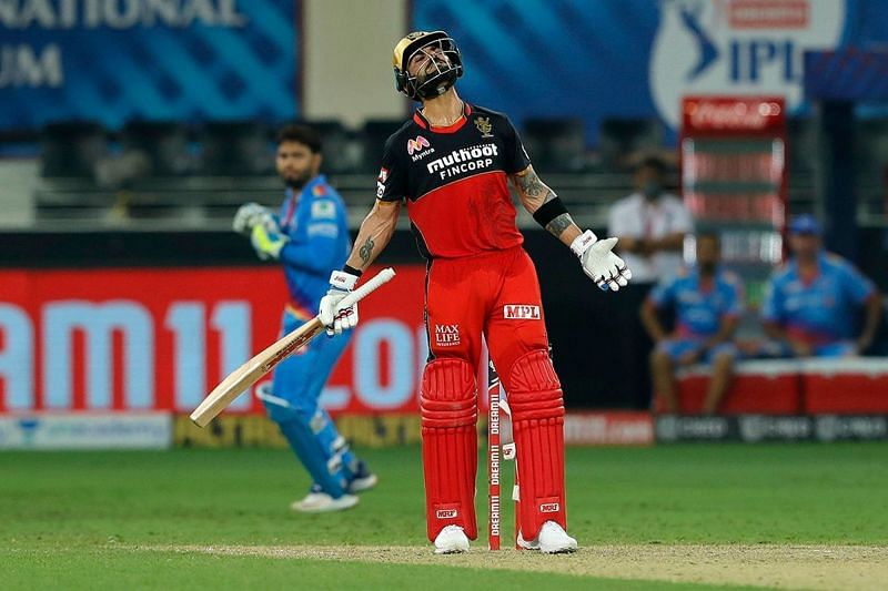 Virat Kohli was the first captain in IPL 2020 to be fined for maintaining a slow over-rate (Image Credits: IPLT20.com)