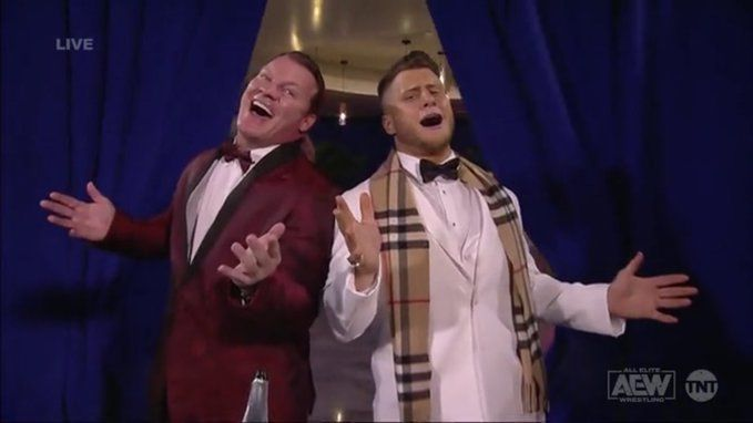 Chris Jericho and MJF have divided the internet this week