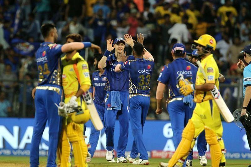 CSK lost to MI in IPL 2013.[Pc: cricket.yahoo.com]