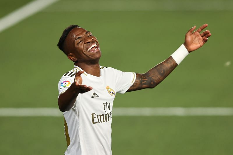 Vinicius Junior has blown hot and cold at Real Madrid so far