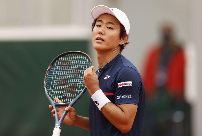 Yoshihito Nishioka has impressive footwork and movement on the court