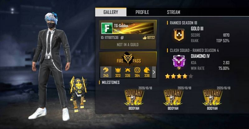 TG-Golden's Free Fire ID