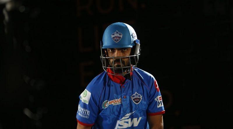 Ajinkya Rahane has not been picked in the DC line-up so far in IPL 2020. (Image Credits: IPLT20.com)