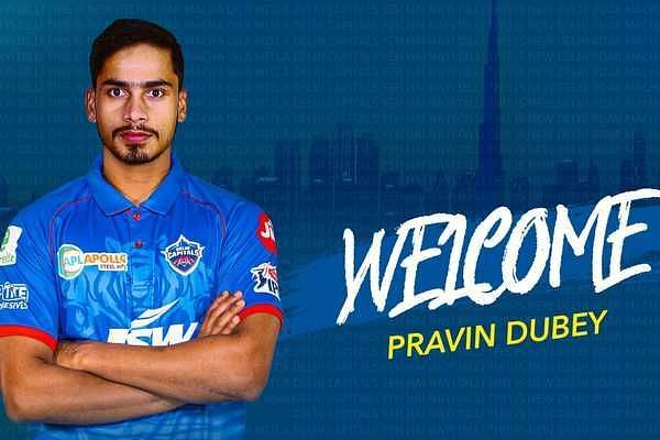 Pravin Dubey has stepped in for Amit Mishra at DC