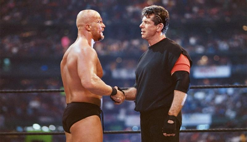 McMahon had a long feud with Stone Cold Steve Austin