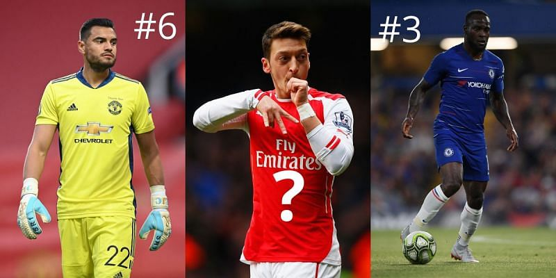 Mesut Ozil is one of a number of big-name players who have not been called up for international duty