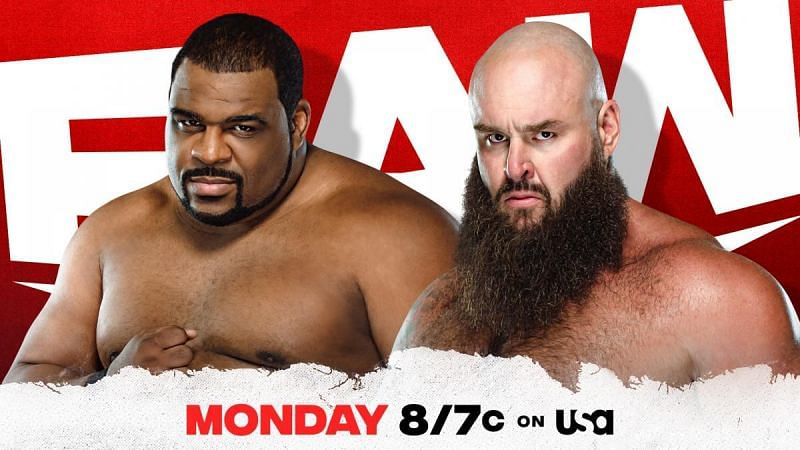 Keith Lee and Braun Strowman will clash on WWE RAW