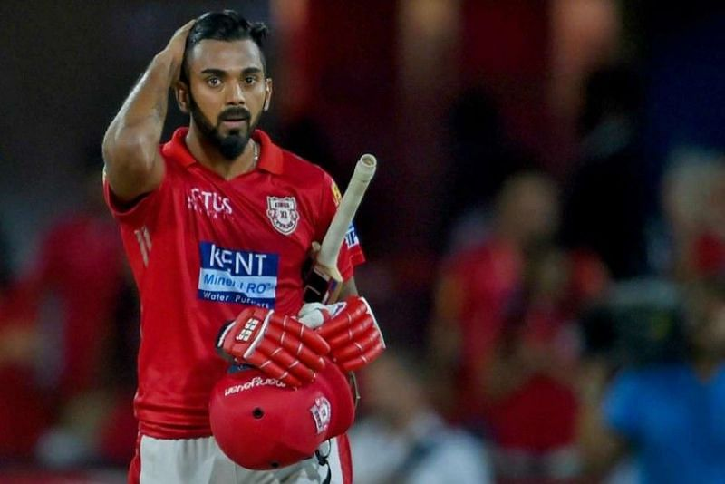 KXIP captain and opener KL Rahul endured a rare failure with the bat.