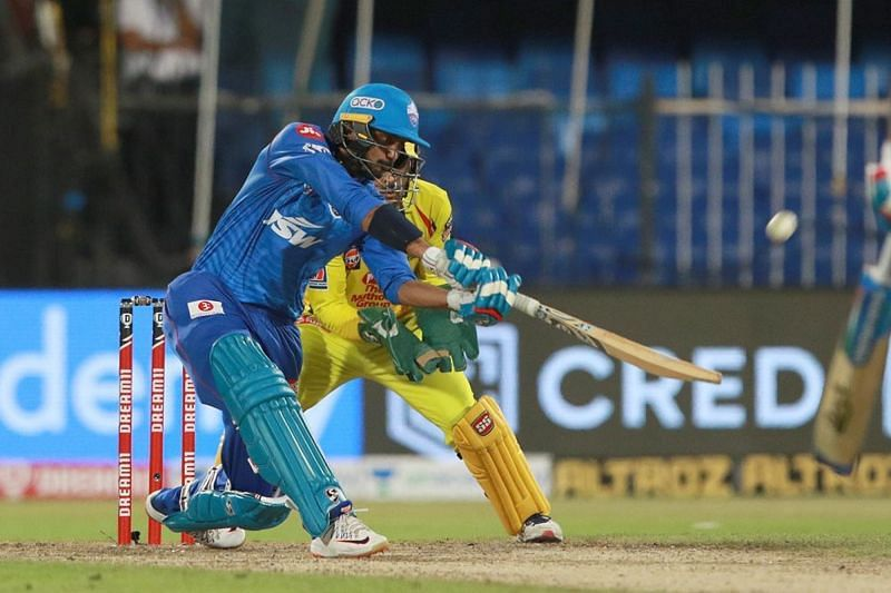 Axar Patel struck a couple of lusty blows to power his team home. (Image Credits: IPLT20.com)