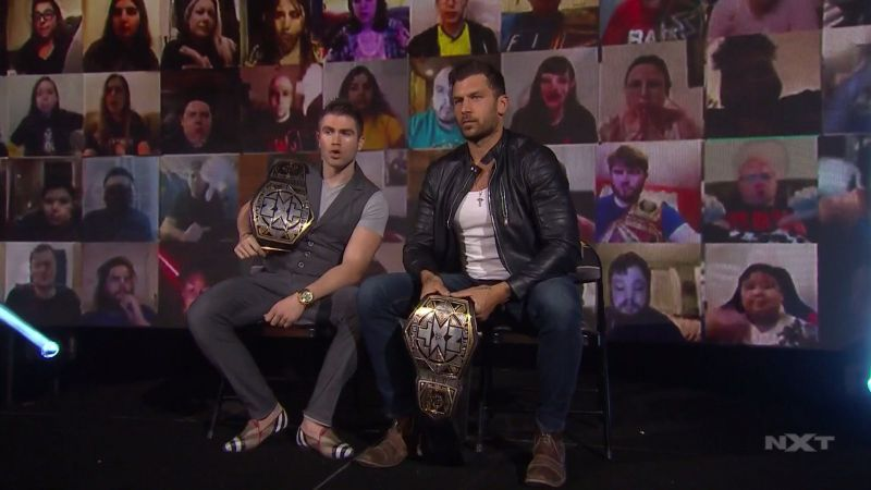 Tyler Breeze and Fandango, the NXT Tag Team Champions