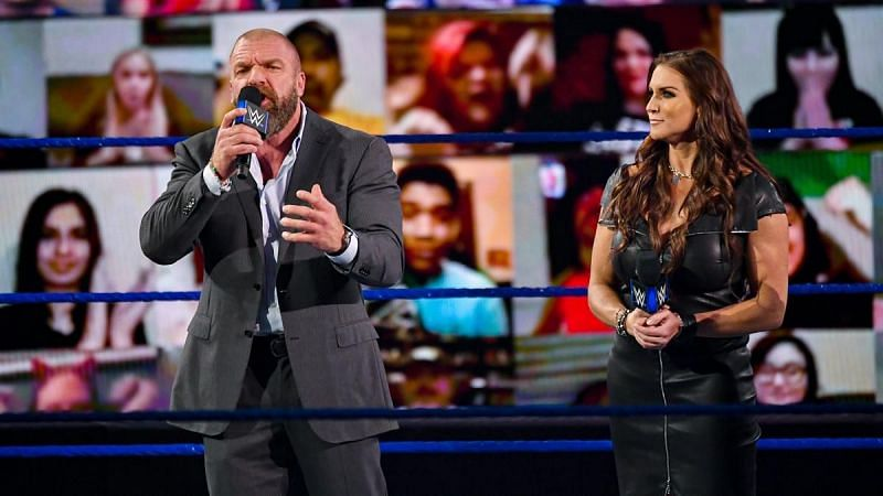 Triple H and Stephanie McMahon kicked off this week