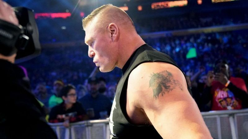 Brock Lesnar is currently a free agent after his WWE contract expired earlier this year