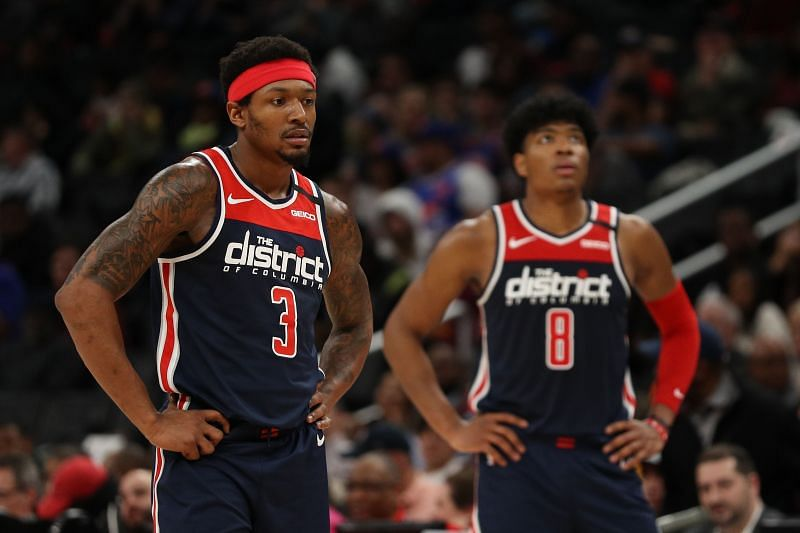 Bradley Beal could remain with the Washington Wizards.