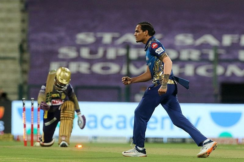 KKR lost their first 5 wickets with just 61 runs on the board [P/C: iplt20.com]