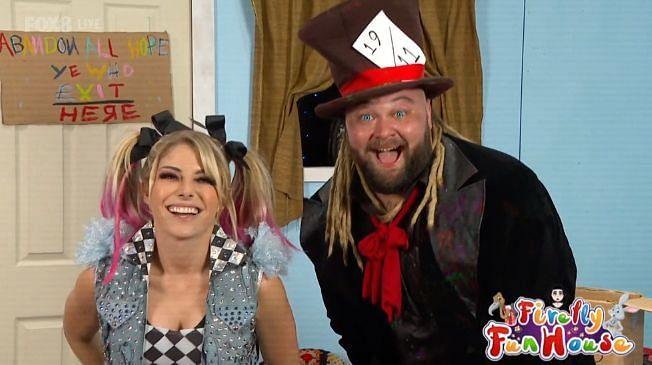 Bray Wyatt and Alexa Bliss showed up on RAW recently