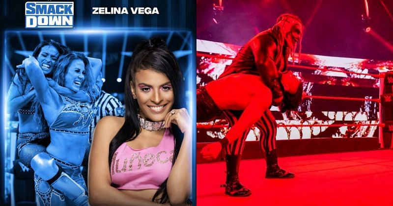 Zelina Vega has been drafted to SmackDown.