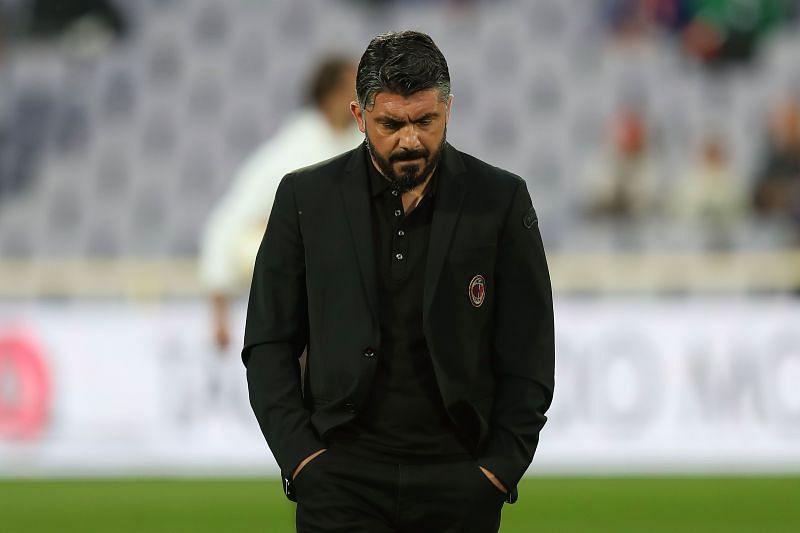 Napoli manager Gennaro Gattuso
