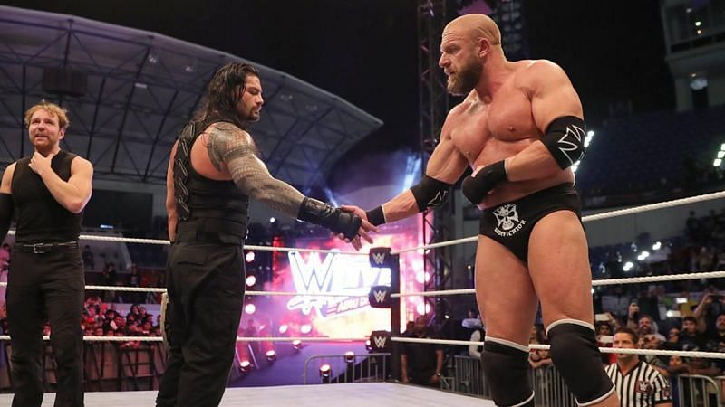 Roman Reigns and Triple H