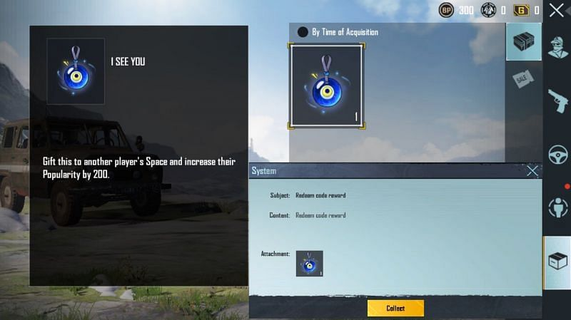 PUBG Mobile Redeem Code for today (25th October): Free popularity gift