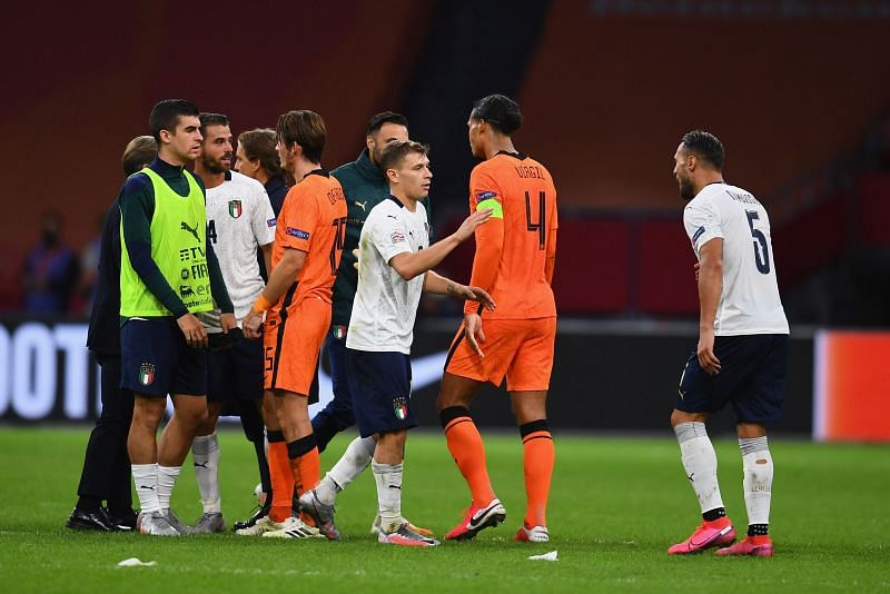 The Netherlands take on Italy this week