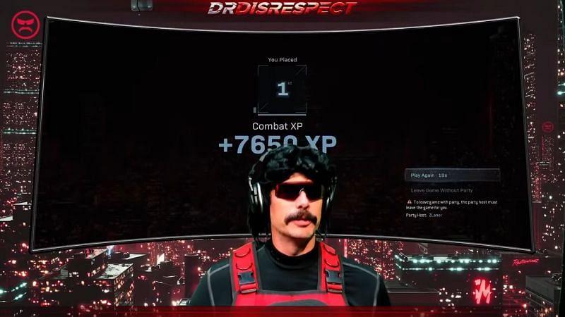 (Image Credit: Dr Disrespect/YouTube)