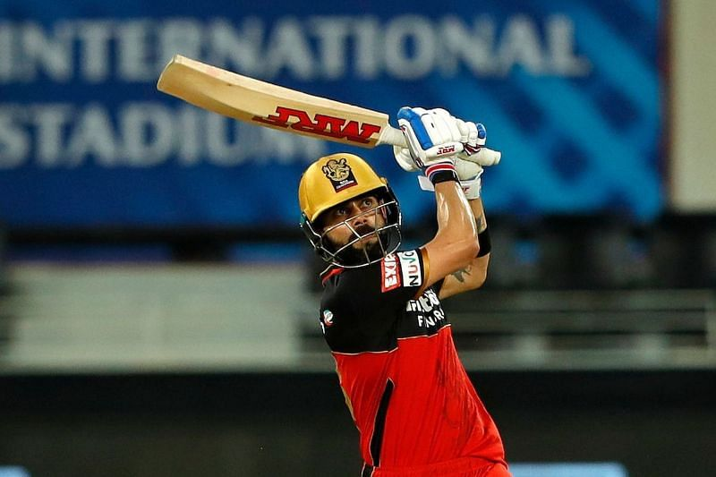 Virat Kohli led RCB to a match-winning total with his innings of 90* against CSK. Image Credits: IPLT20